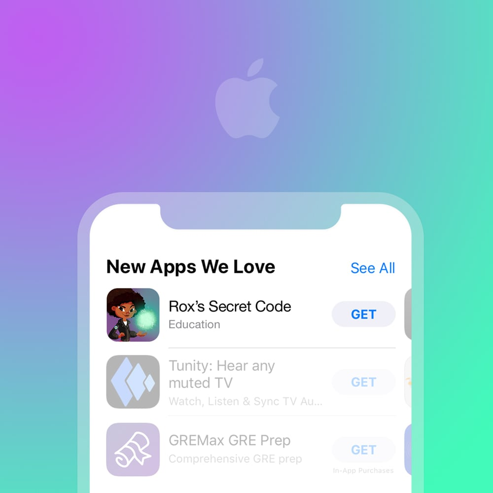 "App store ""Apps We Love"" - Apple proactively reached out"
