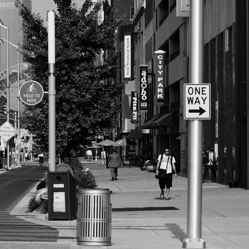 City Morning - 10 x 10 Print