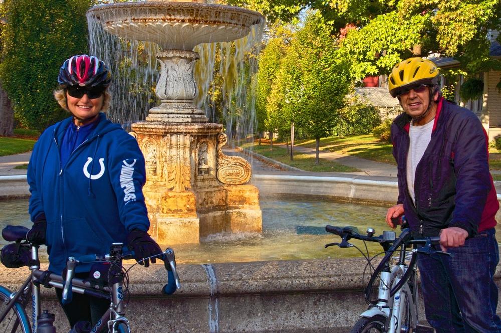 Suzie & Kimball, Bike Tour Leaders