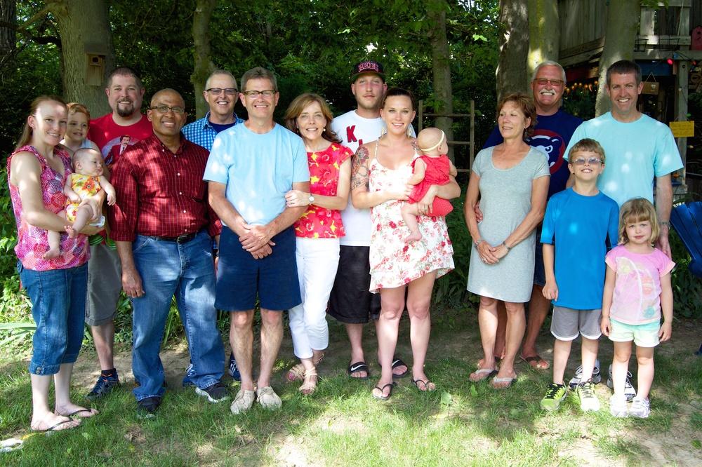 The Wagoner Family, at Phil & Terri's House, 2014