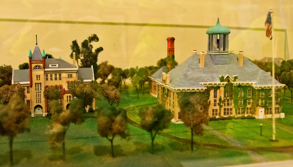 Model of Butler University - Irvington