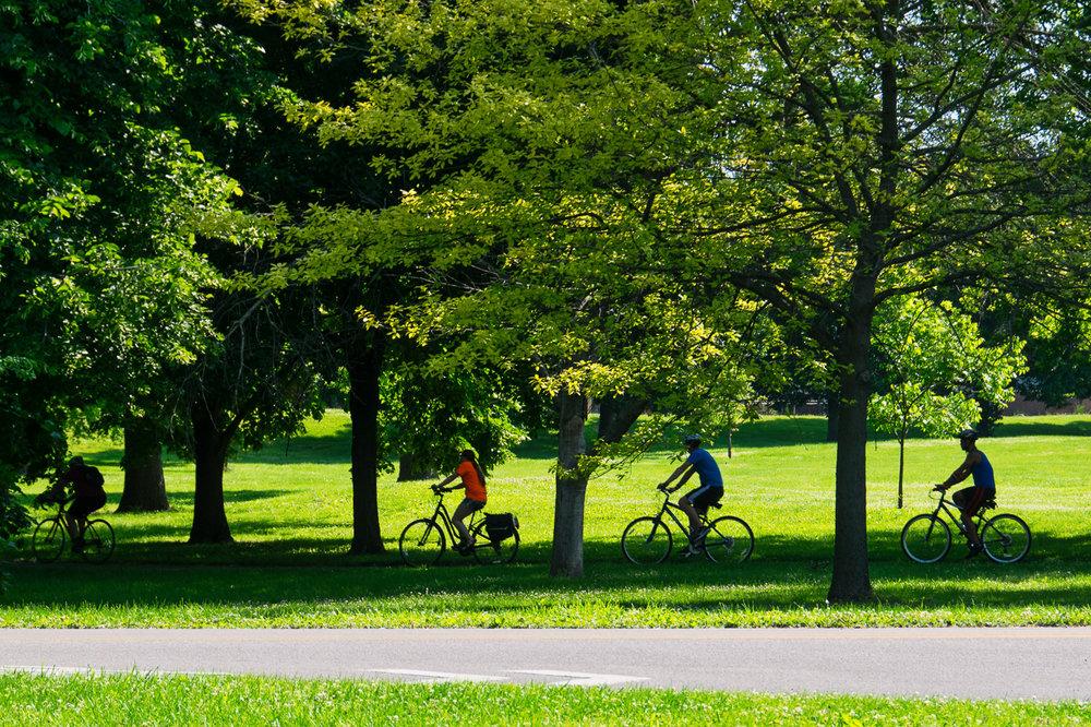 Cycling Through Garfield Park