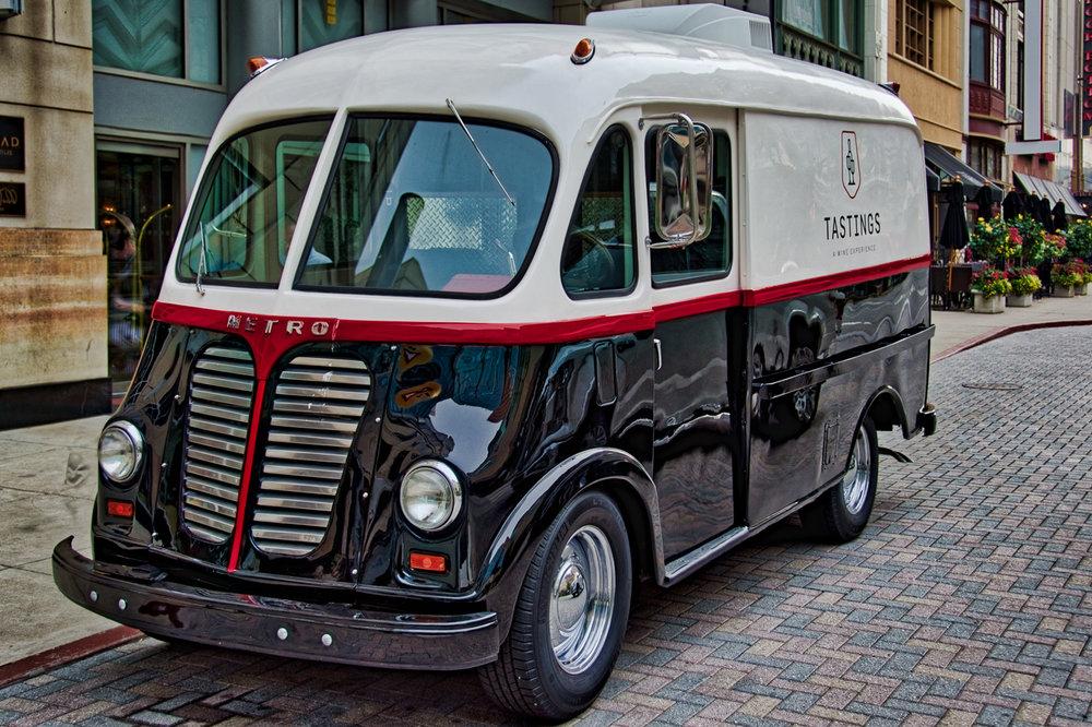 Metro Van Delivery, by Tastings, a Wine Experience.