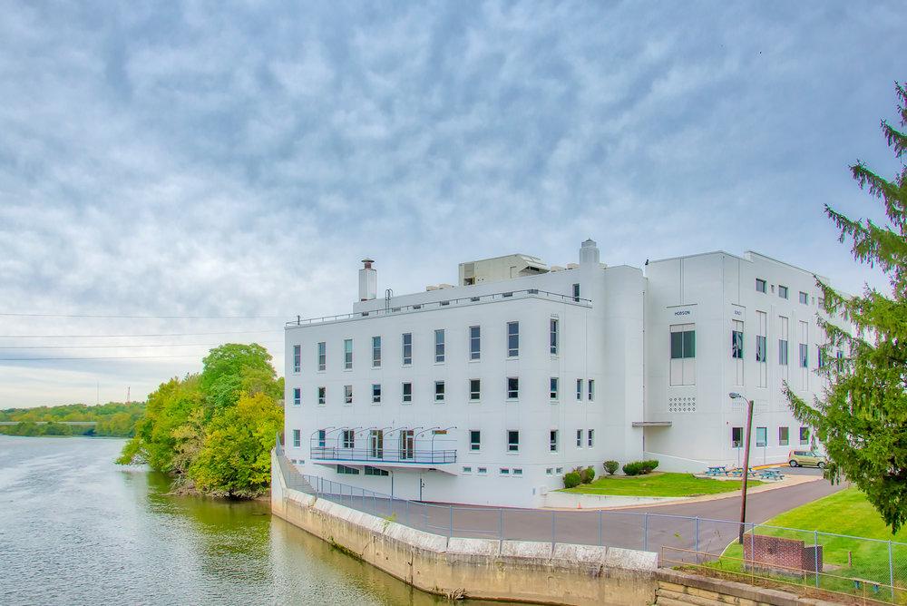 Riverside High School, along the White River.