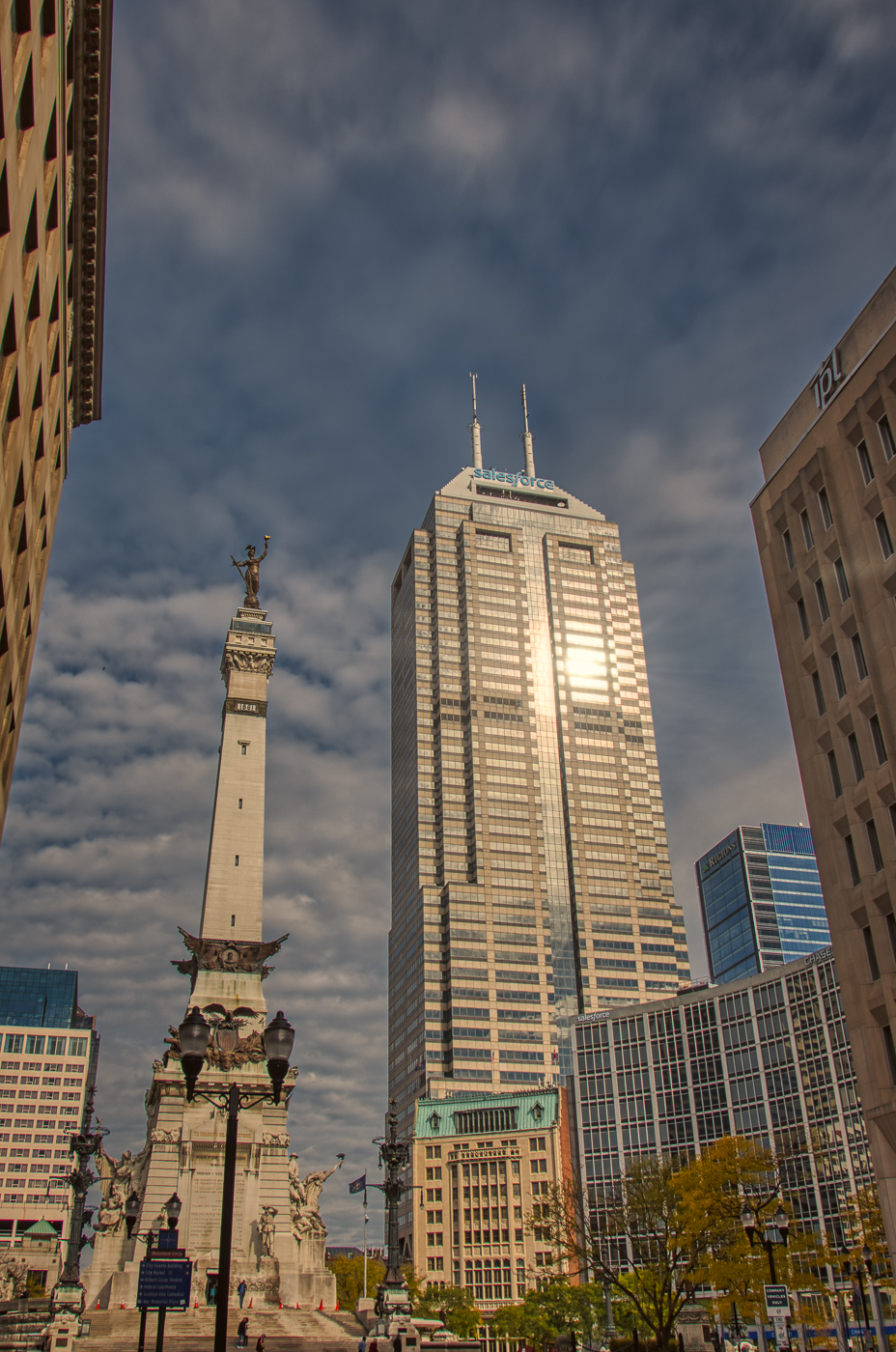 Monument Circle, Indianapolis, Indiana