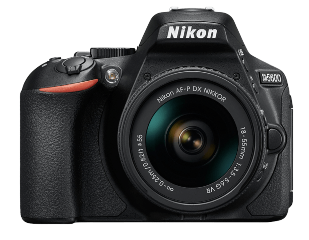 The camera I use on the Cultural Trail, a Nikon D5600 digital camera.
