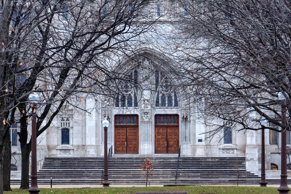 Scottish Rite Cathedral, Meridian Street, Indianapolis, IN.