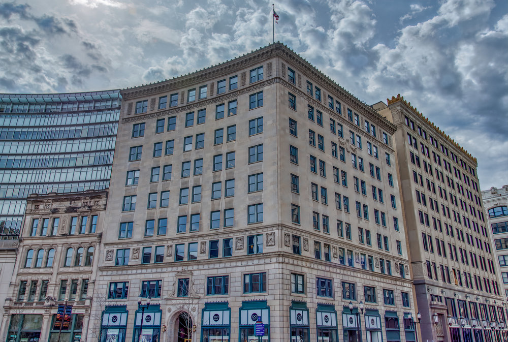 Lacy (Test) Building on Monument Circle.