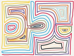 doodle maze color