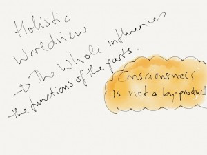 holistic worldview doodle