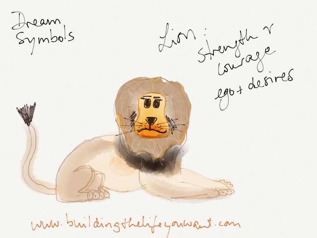 Dream Symbol Lion Doris Fllgrabe