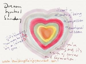 heart dream symbol doodle