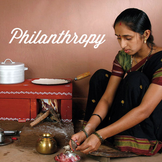 Philanthropy!