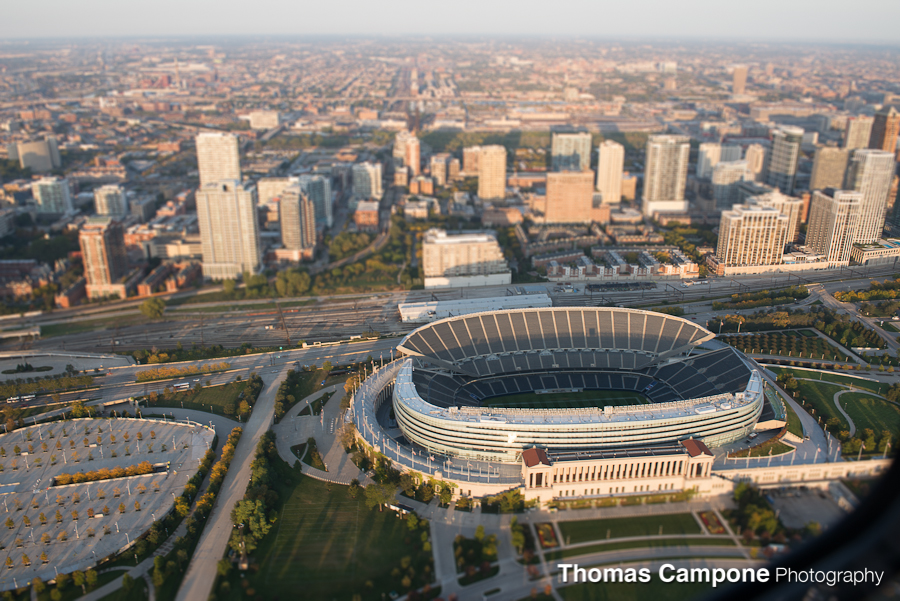 Chicago Helicopter Tour - Soldier Field
