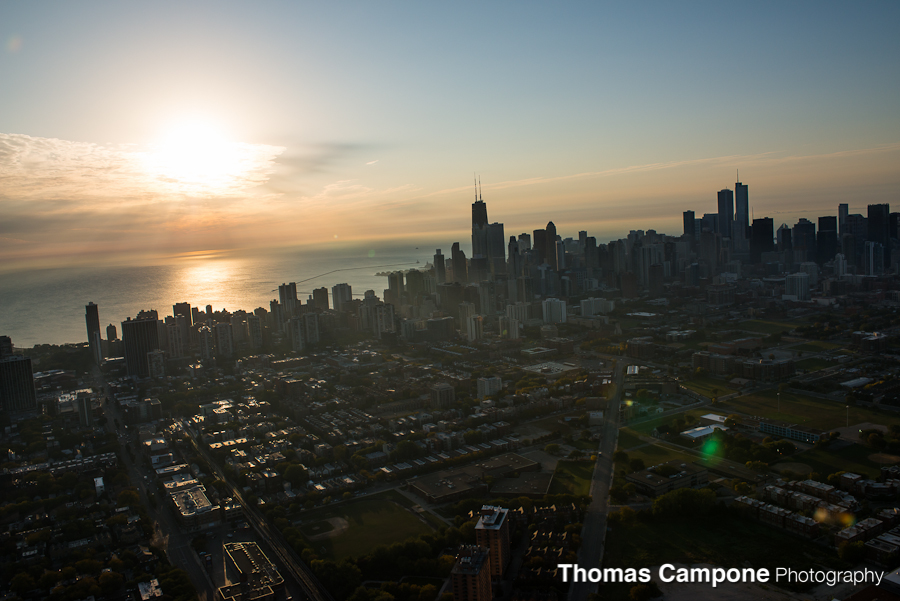 Chicago Helicopter Tour - Chicago Skyline