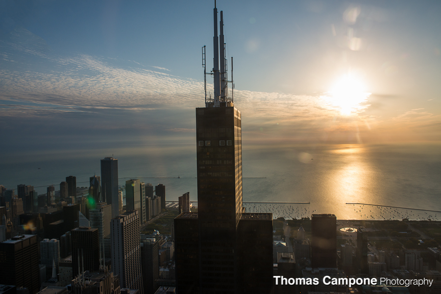 Chicago Helicopter Tour - Willis Tower