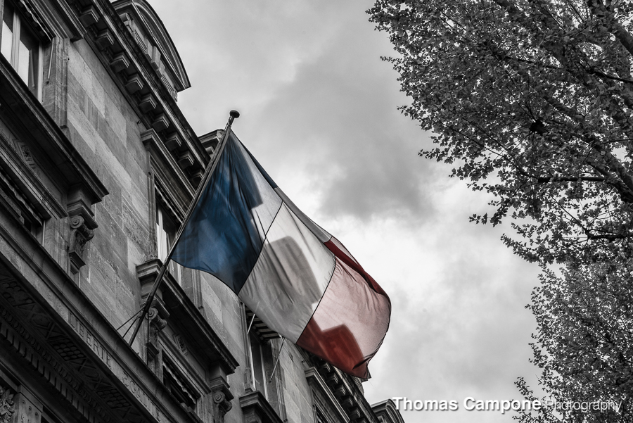 French Tricolour   1/250 Sec - f11 - Iso 400 - 70mm