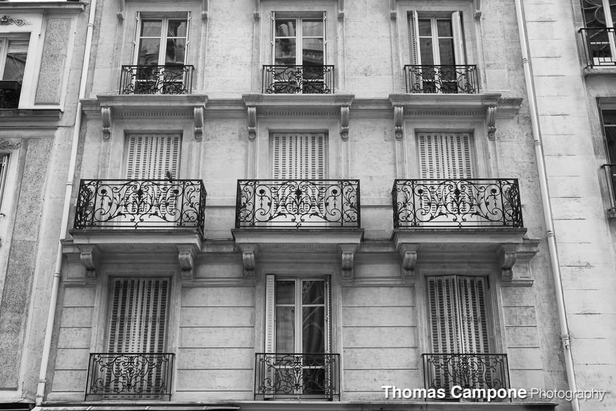 French Balconies   1/50 Sec - f11 - ISO 400 - 42mm