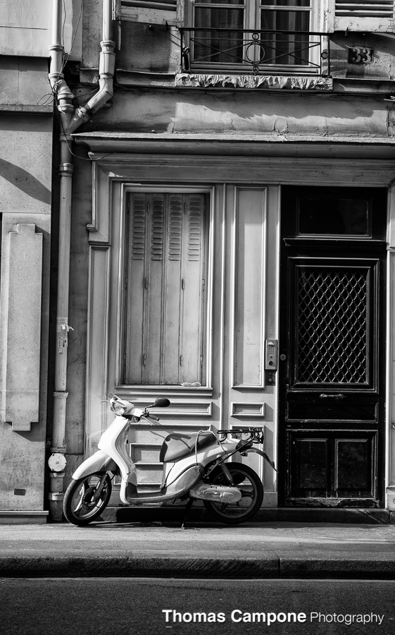 French Scooter  1/1000 Sec - f4.5 - ISO 400 - 70mm