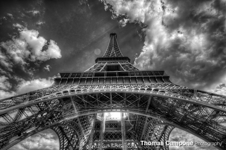 Eiffel Tower  1/500 Sec - f11 - ISO 320 - 16mm (HDR)