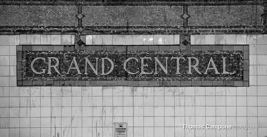 Grand Central Subway Sign