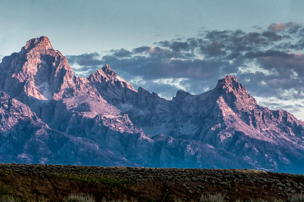Early Morning Teton NP
