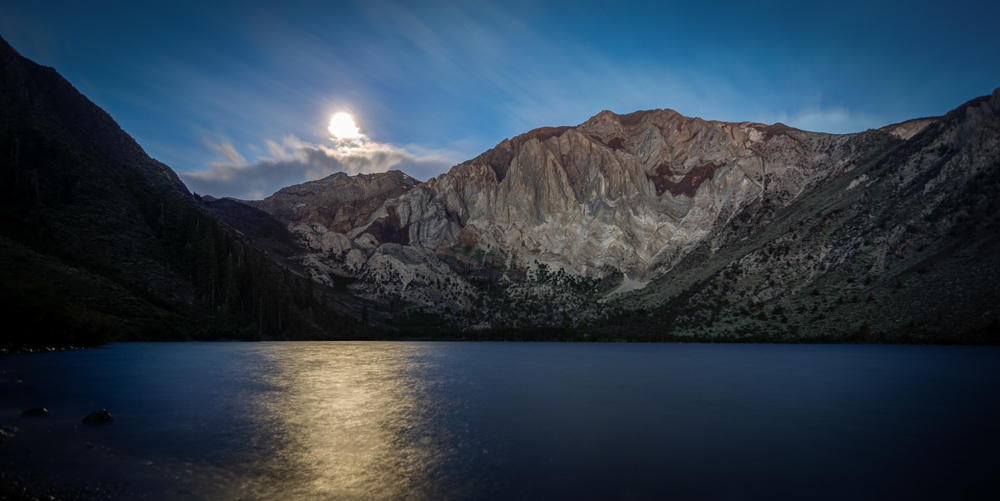 Convict Lake in the Moonlight