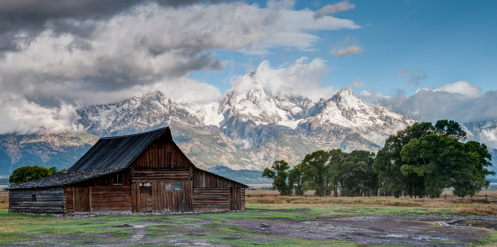 On Morman Row, Grand Teton National Park