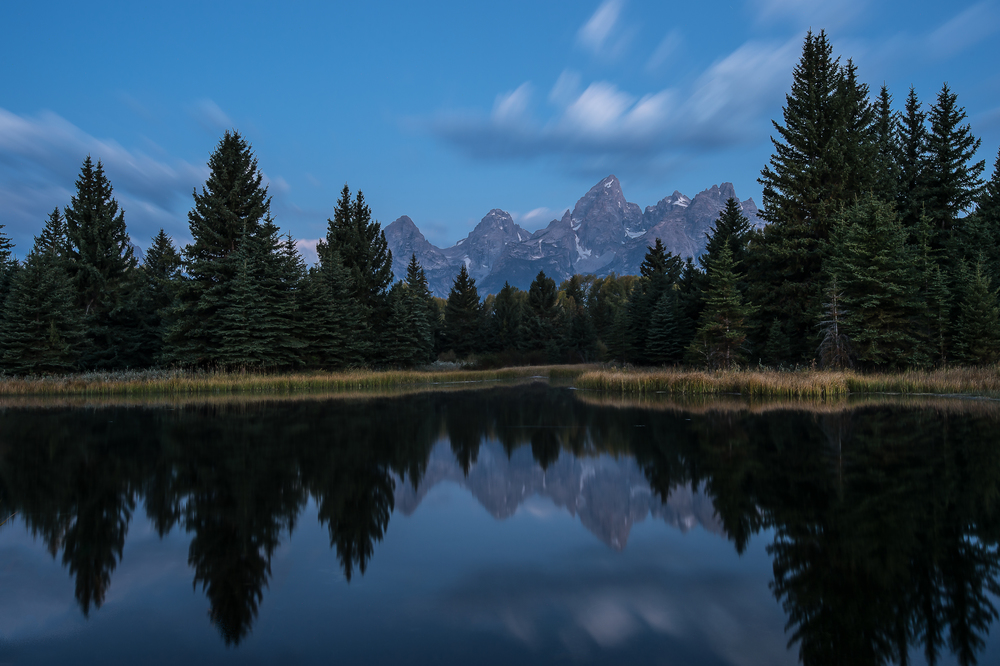 Schwabacher Landing Before Sunrise