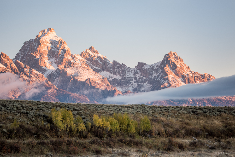 The Tetons Early Morning