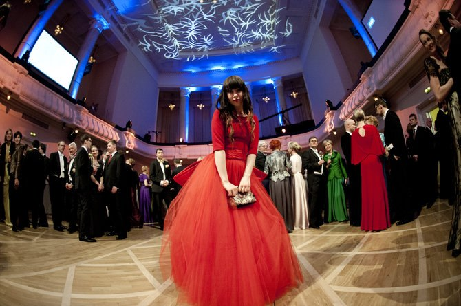 Iiris at the President's Ball, Estonian Independence Day, 24 February 2013. Photo: Jelena Rudi