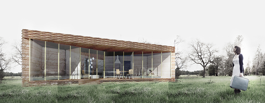 A summer house, one of the Katus.eu projects. Photo: Salto Architects