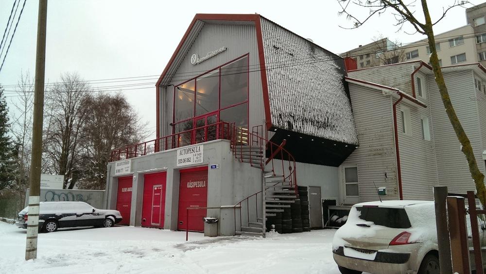 Heidi Park's shop in Tallinn