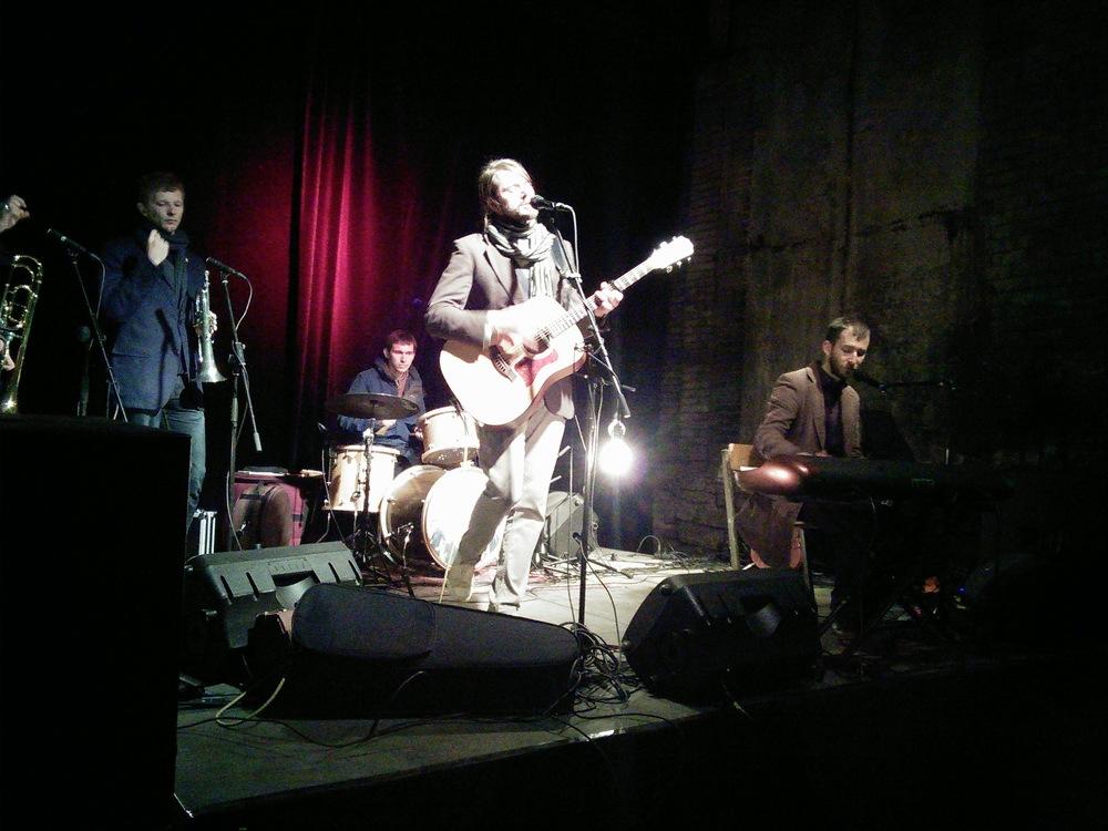 Estonian band Odd Hugo performing