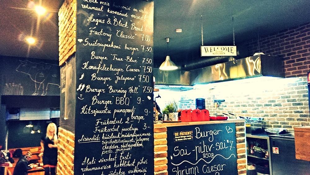 Estonian Burger Factory, Tallinn