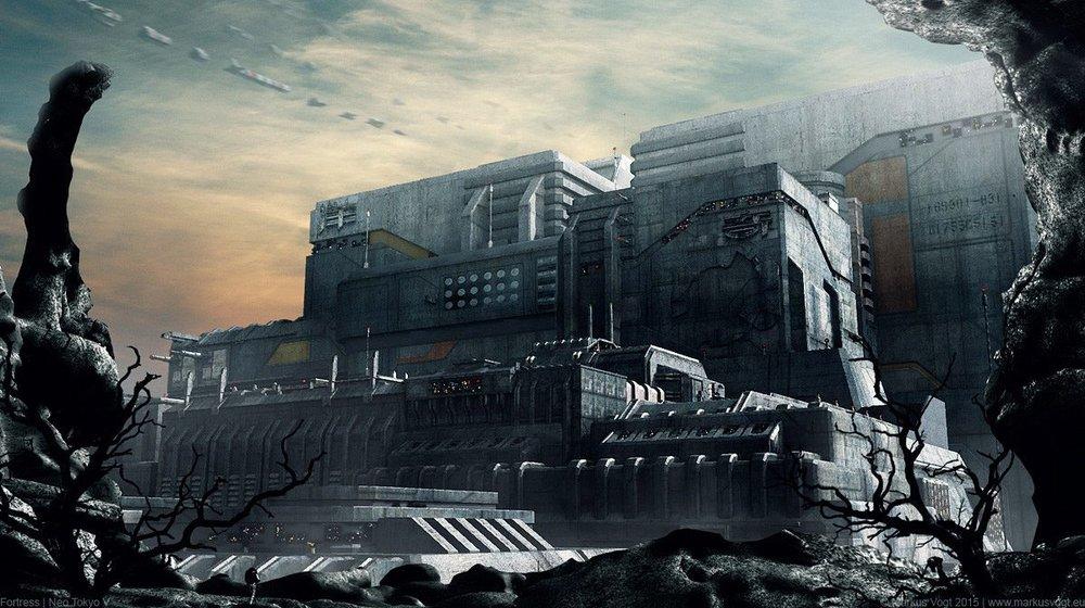 """""""Fortress Neo Tokyo V"""" by Markus Vogt"""