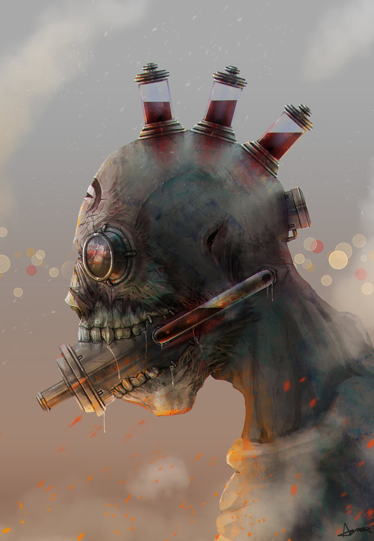 """Tech Zombie"" by Aaron Quinn"