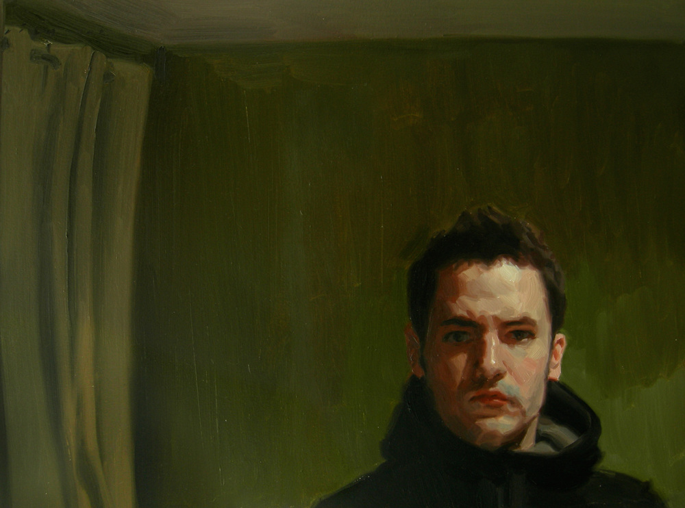 SELF-PORTRAIT IN GREEN