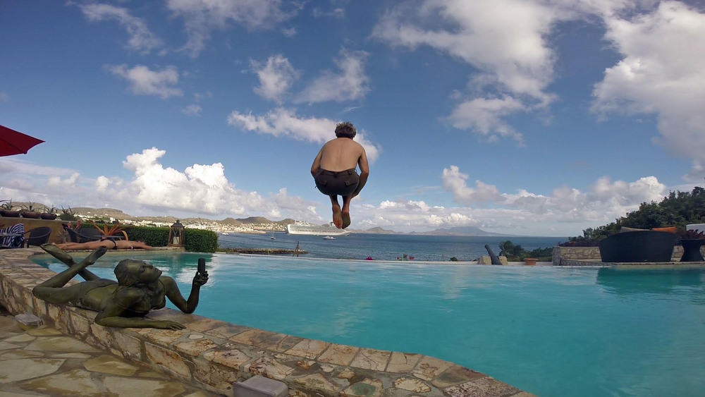 Cannonball into infinity