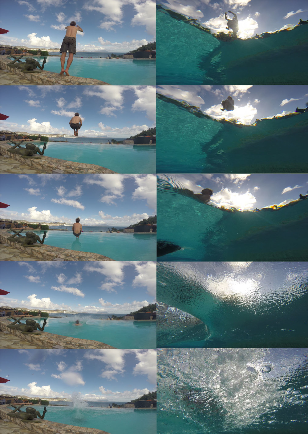 Cannonball collage