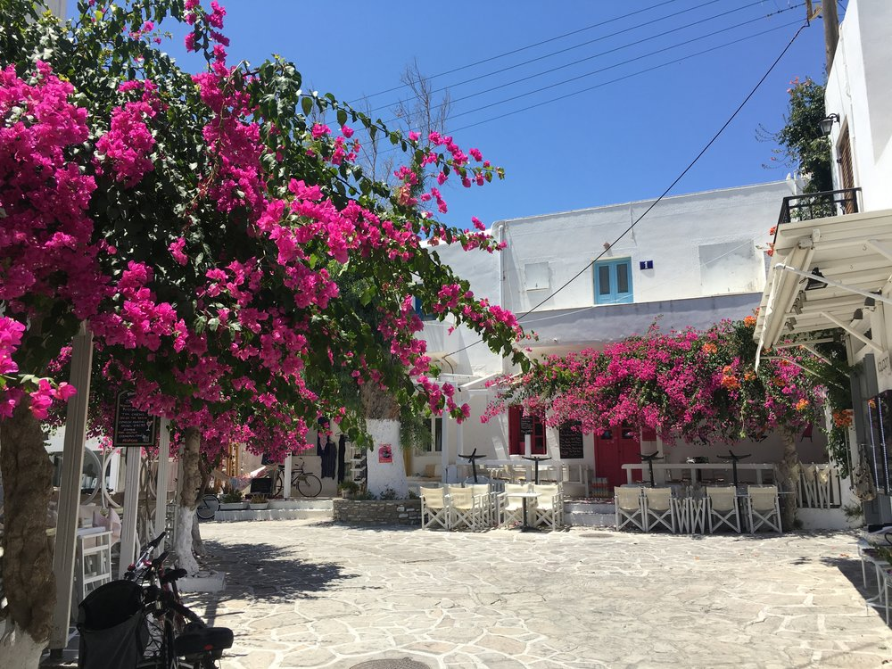 Antiparos for the day - Worth the mini excursion - recommended to me by a local, Antiparos is 10 min boat ride away from Paros, and is much more calm and trendy (literally only Greeks) compared to the larger towns of Parikia & Lefkes on Paros