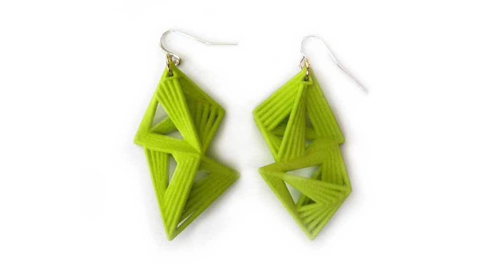 Tetryn Earrings 6300: In Nylon $12 6390: In Steel $66