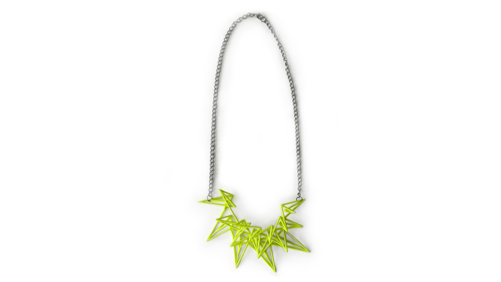 Estelle Necklace (Spiked) 7200: In Nylon $18