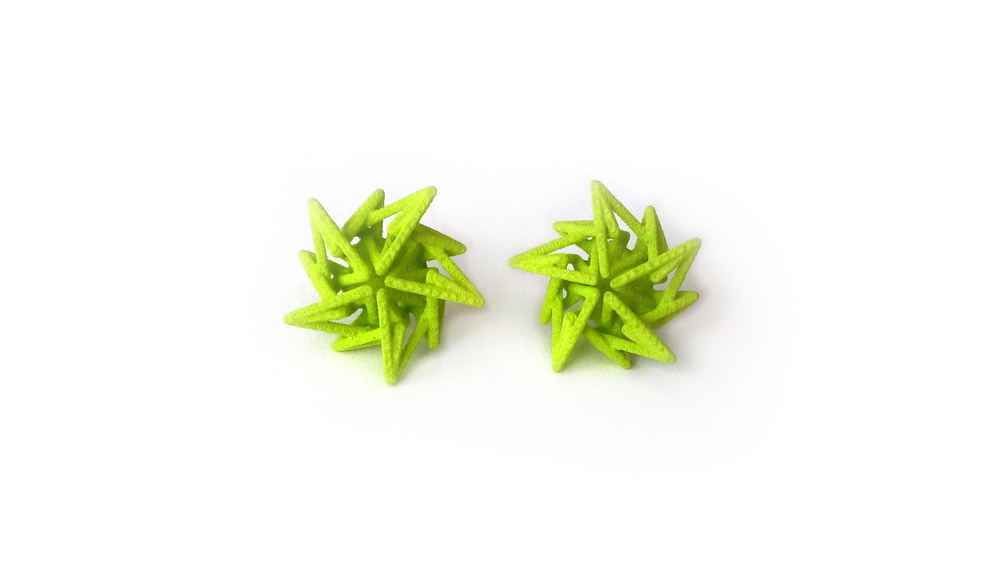 Estelle Earrings (Studs) Closed   7450: In Nylon $10  7495: In Steel $52