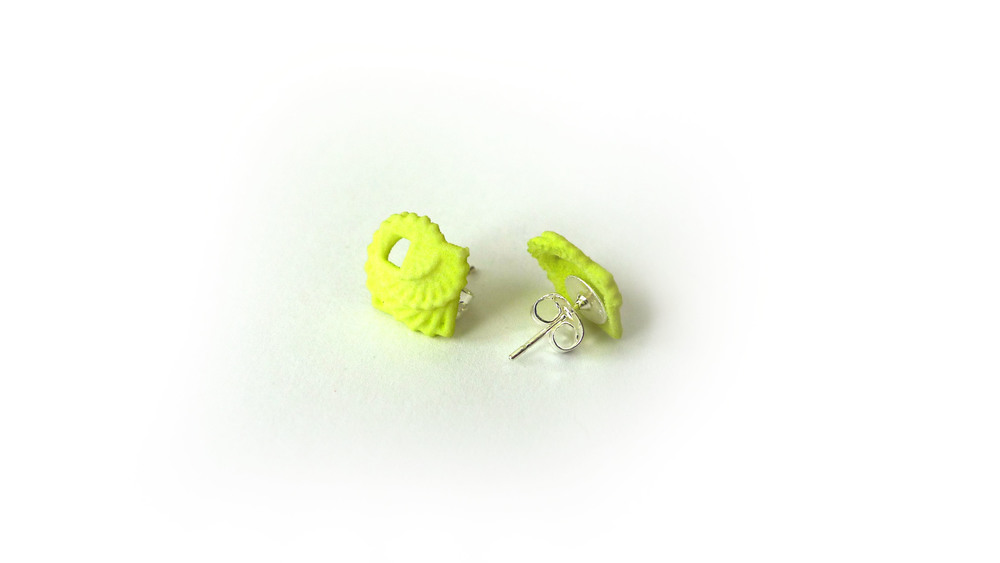 Arithmetic Earrings (Mini Studs) 1450: In Nylon $9 1495: In Steel $44