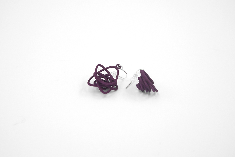 Sprouted Spirals Earrings 3300: In Nylon $9