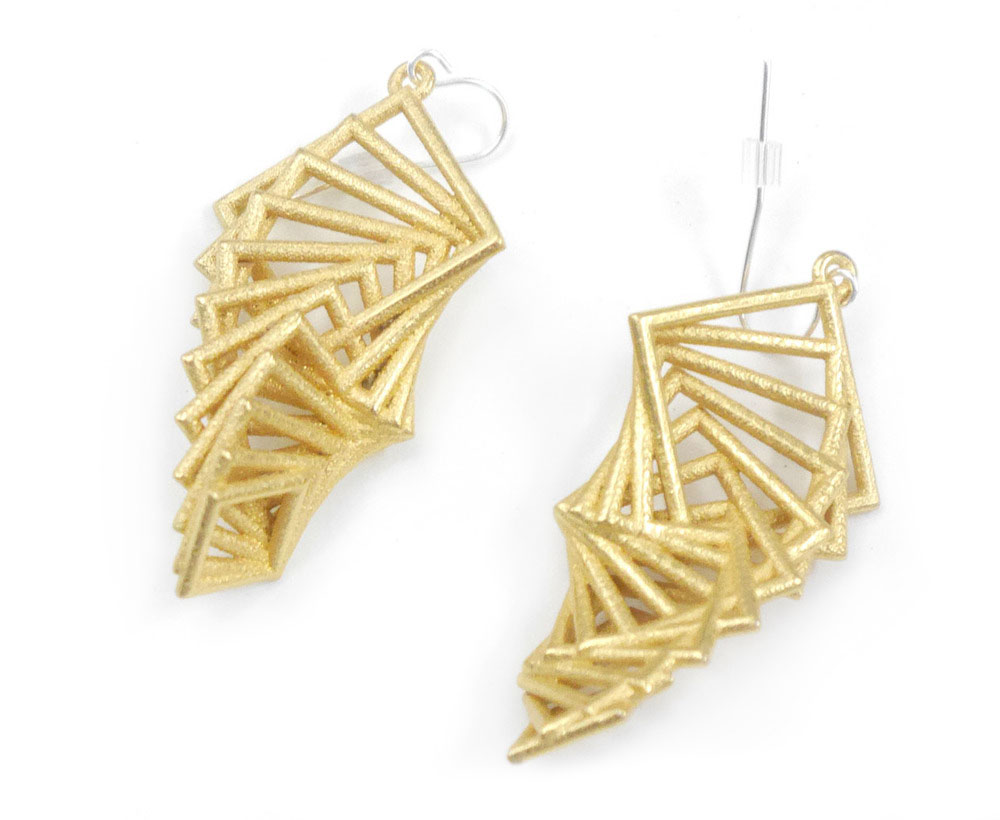 Arithmetic Earrings 1300: In Nylon $12 1390: In Steel $56