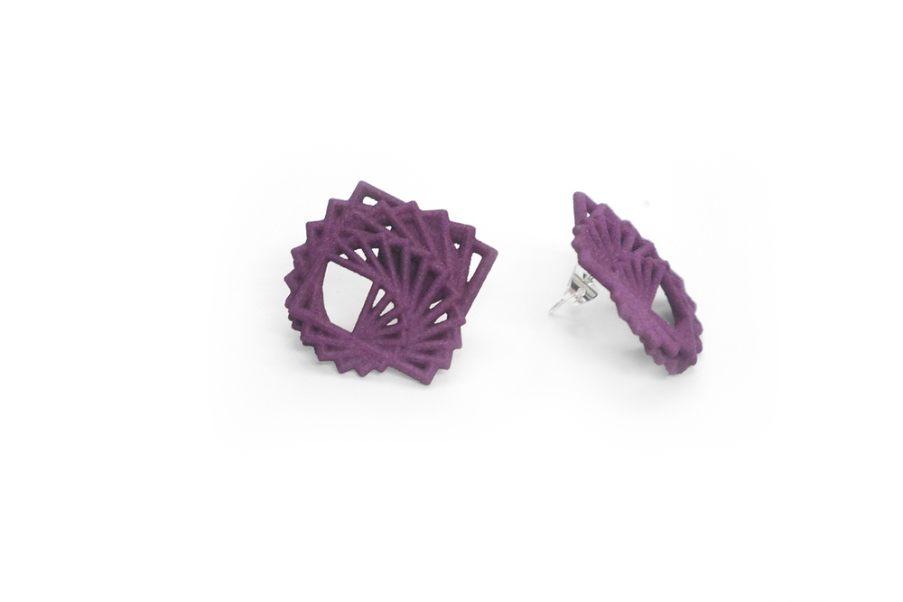 Arithmetic Earrings (Studs)   1400: In Nylon $10  1490: In Steel $52