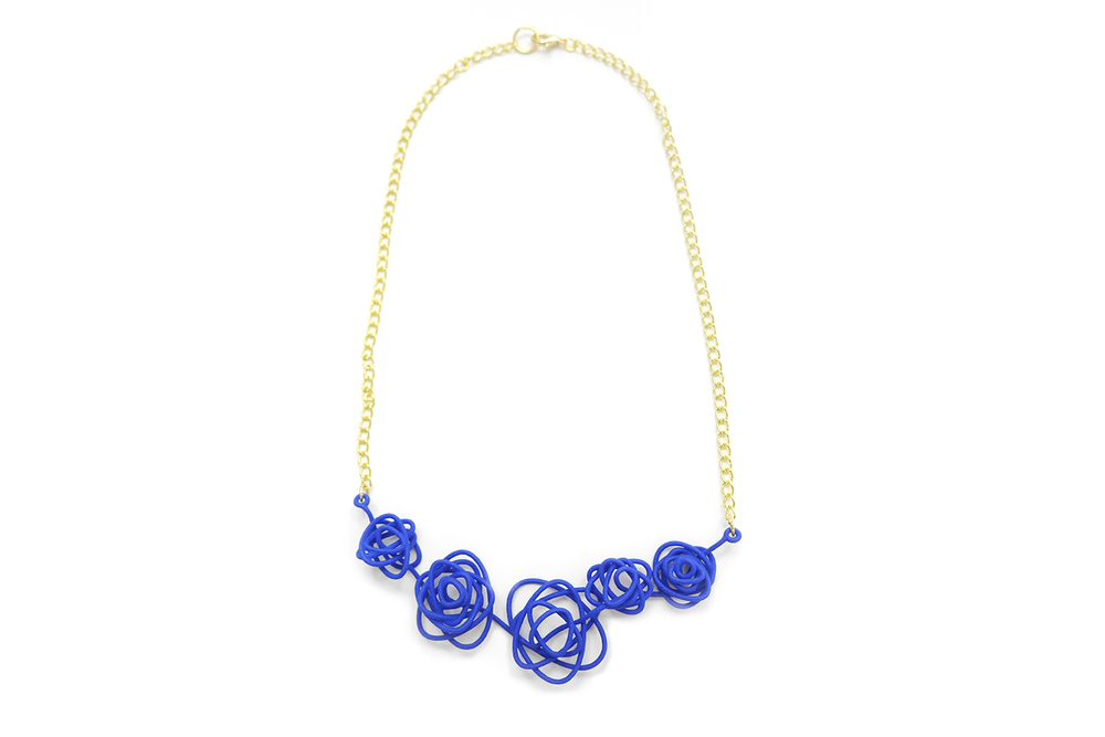 Sprouted Spirals Necklace 3500: In Nylon $15