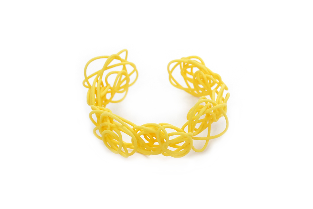 Sprouted Spirals Cuff (Messy)   3700: In Nylon $20